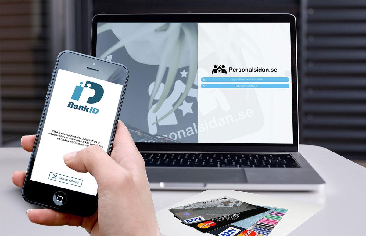 Säkrare inloggningar med Bank-ID