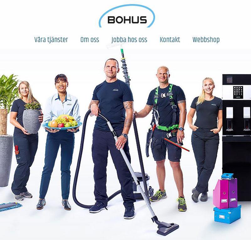 Bohus har en Pyramidkopplad Webbutik Flex