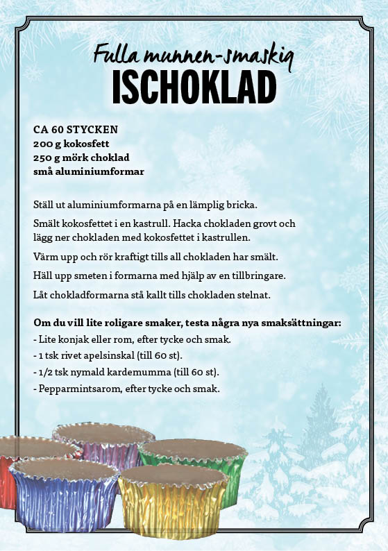 Fullamunnnengod Ischoklad