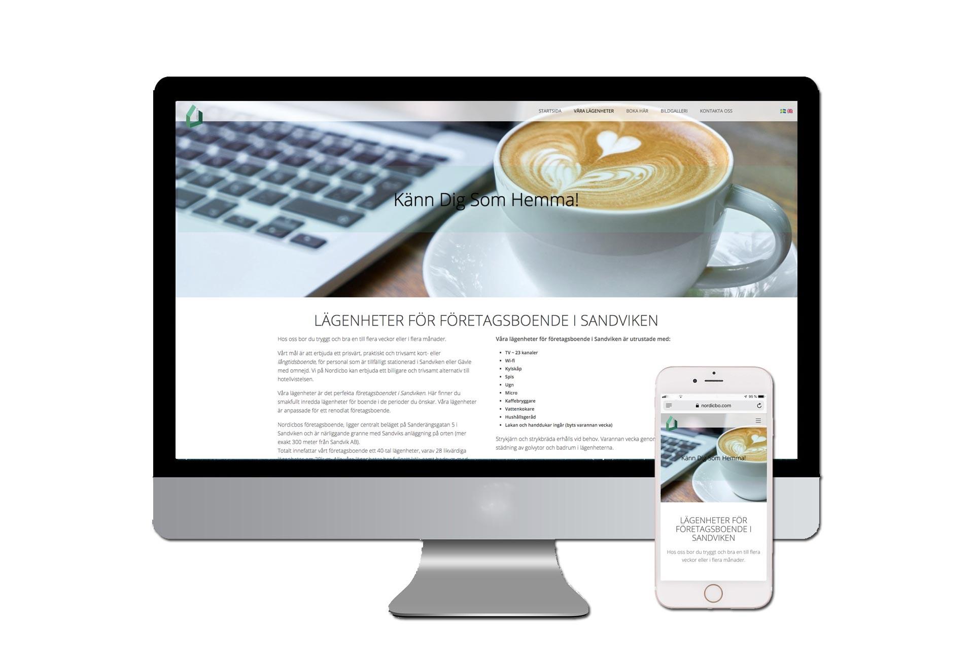 Webblösningar i Responsiv design